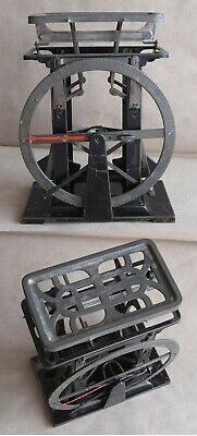 ANTIQUE GERMAN TABLE POSTAL LETTER PENDULUM FULL CIRCLE SCALES BALANCE 1000 g