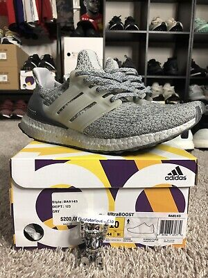 4f967b1ba Adidas Ultra Boost 3.0 Silver Superbowl Pack Sz. 10 - BA8143 VNDS! Color  Boost