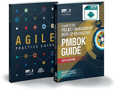 PMI PMBOK Guide 6th Edition 2018 + Agile Practice Guide ([APK] Email Deivery)