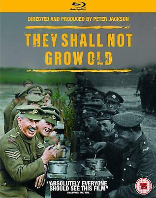 THEY SHALL NOT GROW OLD Blu-ray Works In US players/Ships from Trusted US Seller