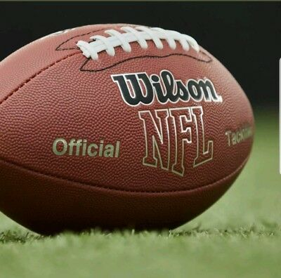 248f46ea32f Wilson NFL Super Grip Official Full Size Football junior composite 9 and up  NEW