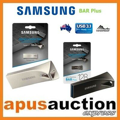 Samsung 32GB 64GB 128GB 256GB Bar Plus USB 3.1 Flash Drive Memory Stick Thumb