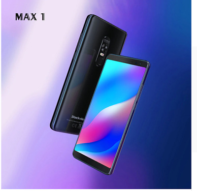 """Blackview Max 1 6.1"""" 4680mAh Android 8.1 Portable Home Theater 6GB+64GB BLACK"""