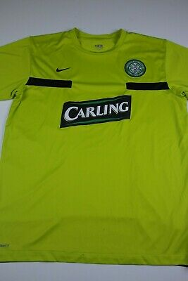0b82ac8b6 Nike Mens Celtic Football Club Soccer Jersey Size XL Maillot Kit Carling Fit  Dry