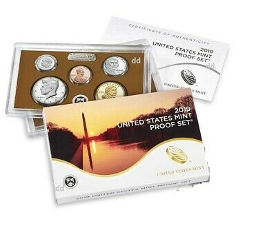 2019-S  U.S. Mint 10 Coin Proof Set    ~~ IN HAND ~~>READY TO SHIP OUT