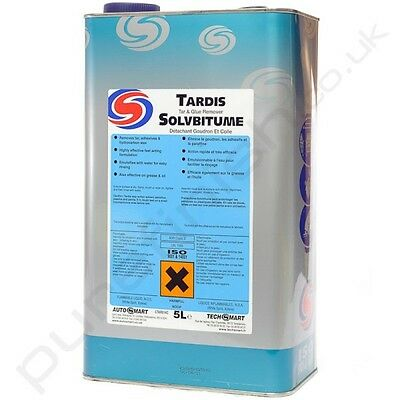 AutoSmart Tardis Tar & Glue Remover Car Cleaning Wash Valet 5L FREE DELIVERY