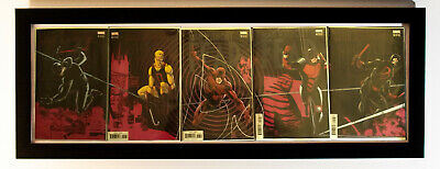 Man Without Fear #1 2 3 4 5 Daredevil 2019 Connecting Covers Marvel Complete NM