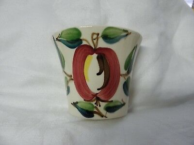 Rare APPLE WALL POCKET made by PURINTON POTTERY