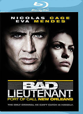 Bad Lieutenant: Port of Call New Orleans (Blu-ray Disc, 2010) New, Free Shipping