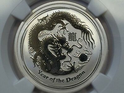 2012 P Australia Year of the Dragon Half Dollar MS 70 NGC