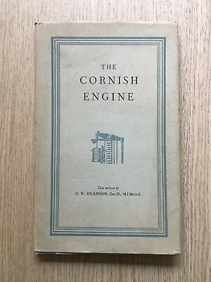 1951 The Cornish Engine By H.w.dickinson