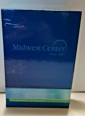 Midwest Center  - Attacking Anxiety and Depression 15 CD Sessions - Guidebook