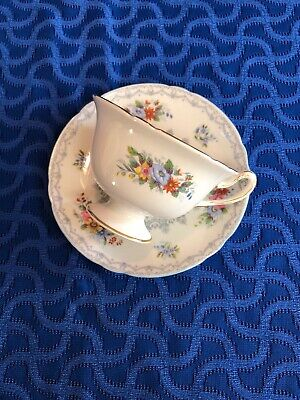 Shelley England Fine Bone China Footed Cup & Saucer CROCHET PATTERN #13302 13303