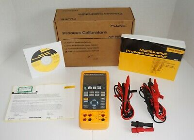 Fluke 726 Multifunction Process Loop Calibrator Mv Ma Volt W Probes New