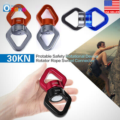 30KN protable Safety Rotational Device Rotator Rope Swivel Connector