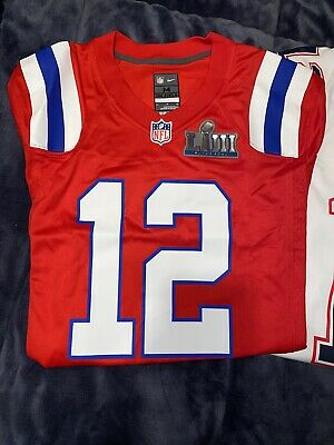Nice TOM BRADY SUPER Bowl LIII 53 Patch Nike White Game Jersey Patriots  for cheap