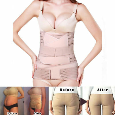 3in1 Postpartum Belt Belly Wrap Body Shaper Support Recovery Girdle After Birth