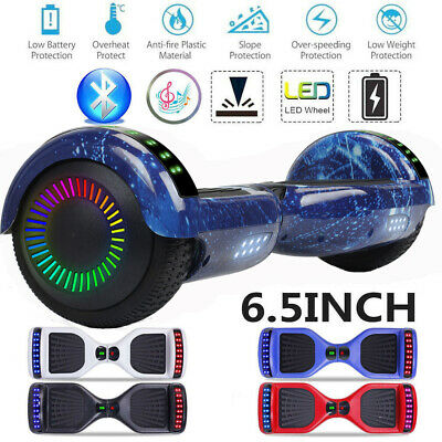 "6.5"" Hoverboard Self Balance Electric Scooter Bluetooth LED Speaker UL2272 New"