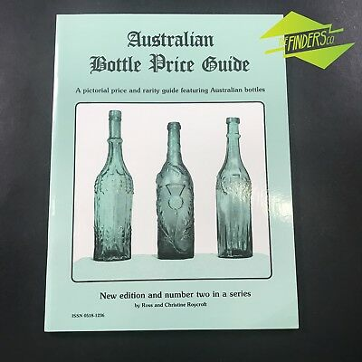 AUSTRALIAN BOTTLE PRICE GUIDE NO.2 By ROYCROFT ANTIQUE GLASS CODD GINGER BEER