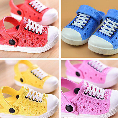 ALS_ Kids Boy Girl Sandals Children Fashion Beach Slippers Breathable Shoes Conv