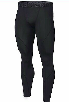 40a87948b9750 Tesla Mens Compression Pants Baselayer Cool Dry Sports Tights Leggings Mup19  Med