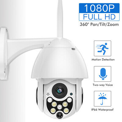 720P 1080P digital zoom PTZ IR-CUT WiFi Wireless Dome IP Camera Outdoor TF card