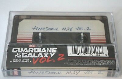 GUARDIANS OF THE GALAXY Awesome Mix Vol. 2 NEW Sealed Cassette Tape Unopened