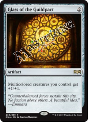 4x Glass of the Guildpact Ravnica Allegiance RNA MtG MasteringtheGame