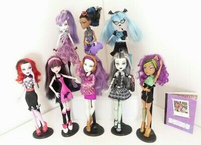 Monster High Dolls you pick one or many all in vgc some rare spectra Ghoulia  2A