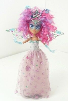 Monster High Doll Ooak Fairy Butterfly Princess Custom Repaint Wings Crown Gown