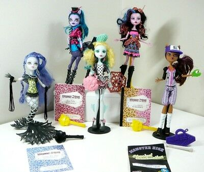 MONSTER HIGH DOLLS you choose which ones rare avea trotter Dracubecca vgc no 16