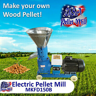 Electric Pellet Mill For Cow's Food - MKFD150B - USA