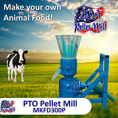 PTO Pellet Mill For Cow's Food - MKFD300P - USA