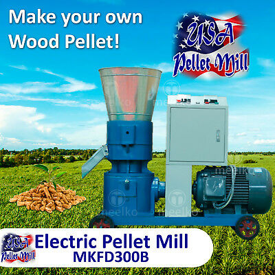 Electric Pellet Mill For Wood - MKFD300B - USA