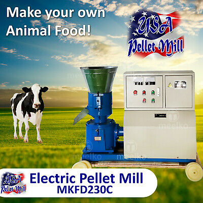 Electric Pellet Mill For Cow's Food - MKFD230C - USA
