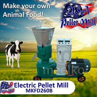 Electric Pellet Mill For Cow's Food - MKFD260B - USA