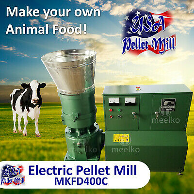 Electric Pellet Mill For Cow's Food - MKFD400C - USA