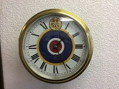 RAF Officers Mess 8 Day Clock
