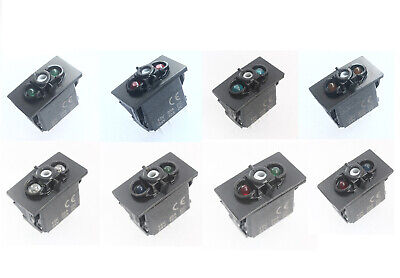 10A 20A Car Boat Carling Led Rocker Switch Base Momentray, ON OFF, ON OFF ON