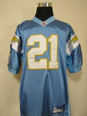 NFL San Diego/LA Chargers #21 SIZE 48/MED R700A SEWN Gridiron Jersey by Reebok