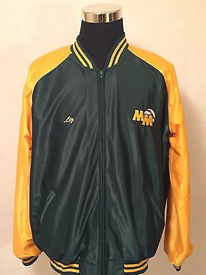 Mackillop Baseball Club NSW SIZE 26/XL** Full Zip Nylon Warm Up Jacket by Star