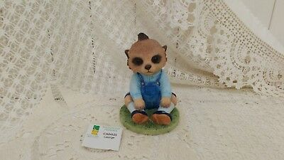 Country Artists Magnificent Meerkats George Figurine Boxed Ca04525