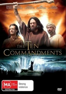 The Ten Commandments DVD TV MINI SERIES EASTER RELIGIOUS BIBLE TALE BRAND NEW R4