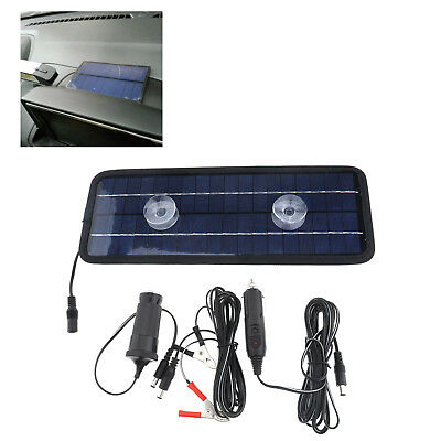 Car Motorcycle Solar Trickle ycleS Panel 12V 4.5W Power Portable Battery Charger