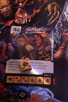 Dice Masters Guardians of the Galaxy - #032 Squirrel Girl - Common FOIL