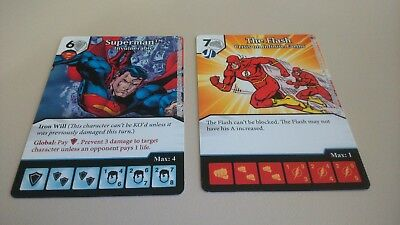Dice Masters Justice League, World's Finest, War of Light - Superman Flash PROMO