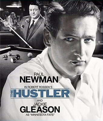 The Hustler (1961 Paul Newman) BLU-RAY NEW