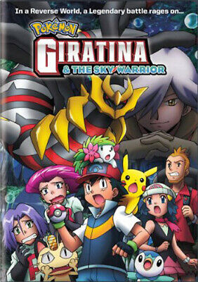 Pokemon 11: Giratina and The Sky Warrior DVD NEW