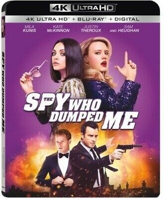 The Spy Who Dumped Me (2 Disc, With Blu-ray) 4K ULTRA HD BLU-RAY NEW