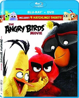 The Angry Birds Movie (2 Disc, Blu-ray + DVD) BLU-RAY NEW